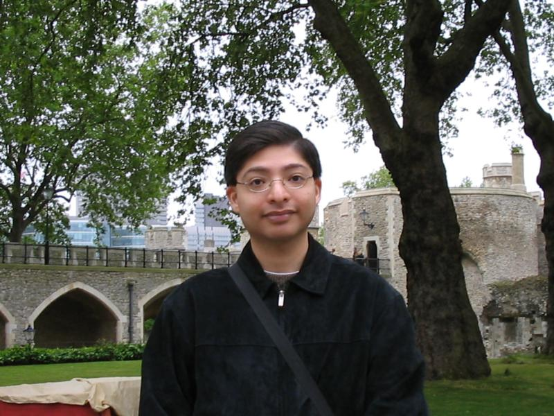Chris at The Tower of London